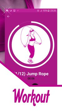 Exercises to lose belly fat fast & cinch apk screenshot