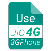 Use 4G on 3G Phone VoLTE icon