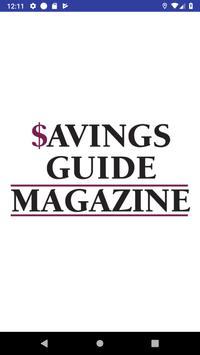 Savings Guide Magazine poster