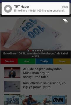TRT Haber poster