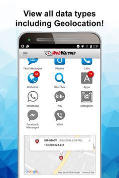 WebWatcher Parental Monitoring apk screenshot