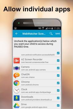 WebWatcher Parental Control apk screenshot