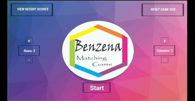 Benzena Matching Game screenshot 1