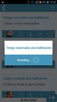 iTalk Spanish apk screenshot