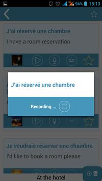 iTalk French apk screenshot
