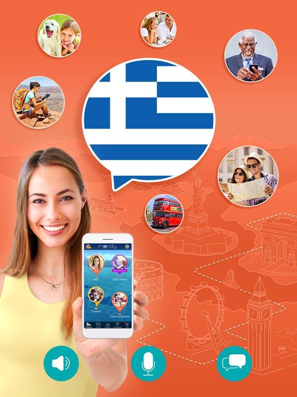 Learn how to speak greek for free