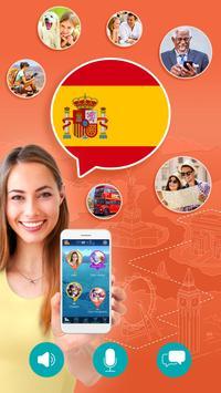 西班牙语:交互式对话 - 学习讲 -门语言 海報
