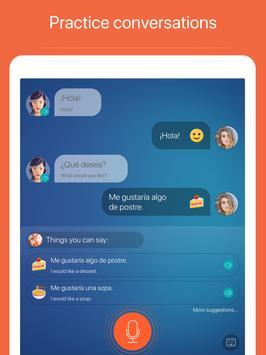 西班牙语:交互式对话 - 学习讲 -门语言 apk 截圖