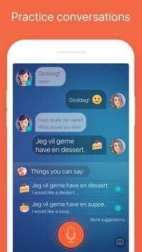 Learn Danish. Speak Danish apk screenshot