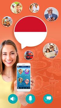 Learn Indonesian Free poster