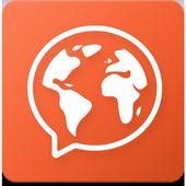学习英语,法语,西班牙语,德语,意大利语,俄语,日语 - Mondly 图标