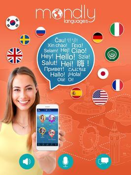学习英语,法语,西班牙语,德语,意大利语,俄语,日语 - Mondly apk 截图