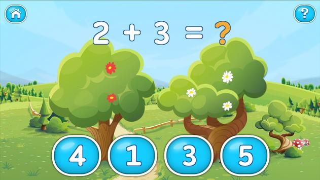 Math for Kids: teach numbers poster