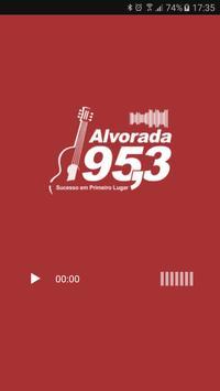 Radio Alvorada 95,3 FM poster