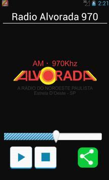 Rádio Alvorada 970 poster