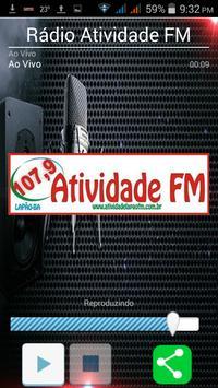 Rádio  Atividade FM poster