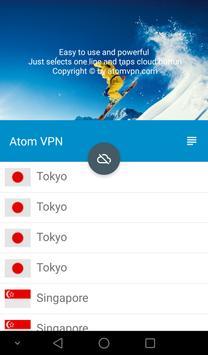 Atom VPN poster