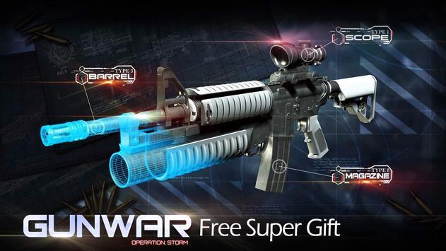 雷霆槍戰(Gun War):超爽射擊手遊 apk 截圖