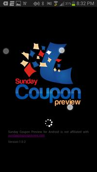 Sunday Coupon Preview poster