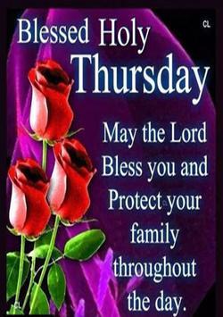 Holy Thursday Prayer screenshot 2