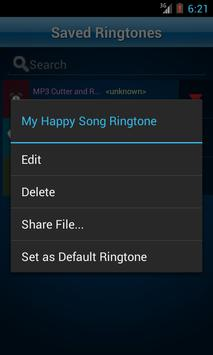 MP3 Cutter and Ringtone Maker♫ apk स्क्रीनशॉट