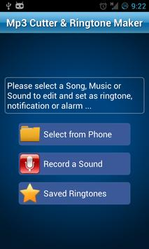 MP3 Cutter and Ringtone Maker♫ पोस्टर