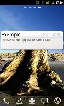 Simple Note screenshot 2