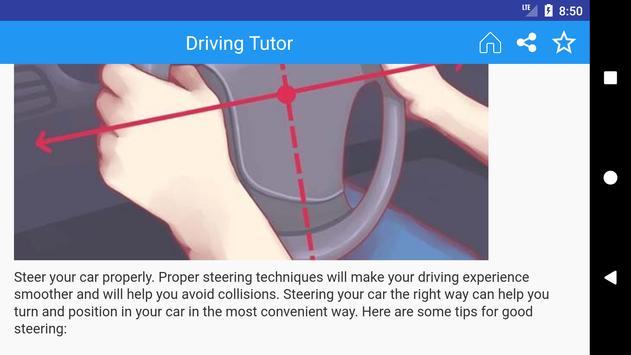 Driving Tutor App Free apk screenshot