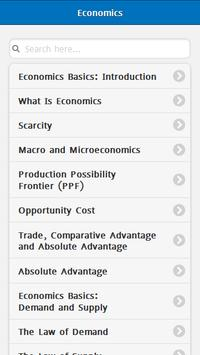 Basic Economics poster