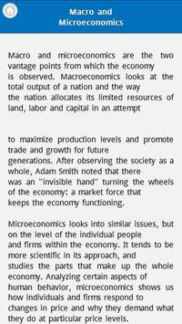 Basic Economics apk screenshot