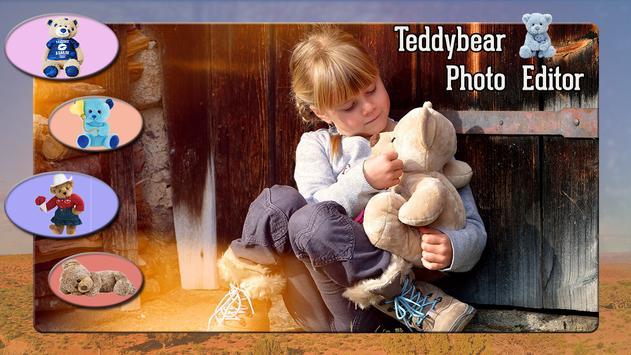 Teddy Bear Photo Editor screenshot 3