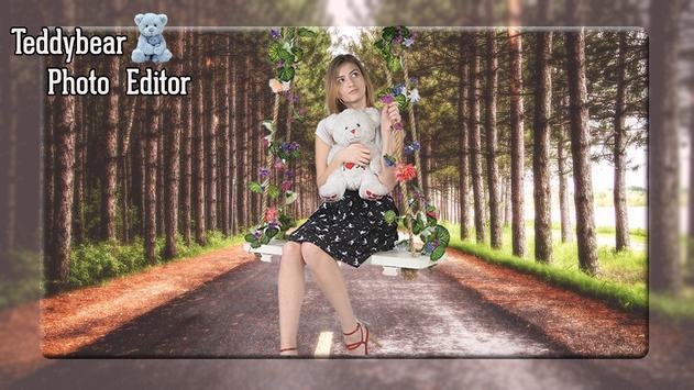 Teddy Bear Photo Editor poster
