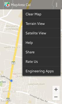 Map Area Calculator on the Go! screenshot 1