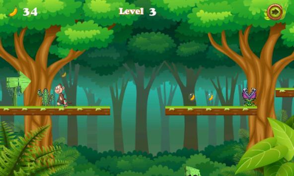 Jungle monkey running screenshot 2