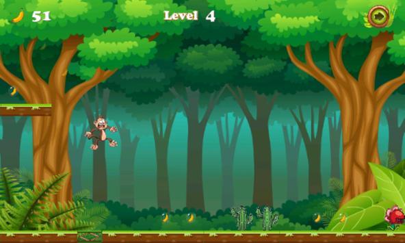 Jungle monkey run apk screenshot