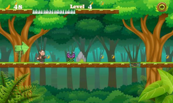 Jungle monkey running screenshot 4