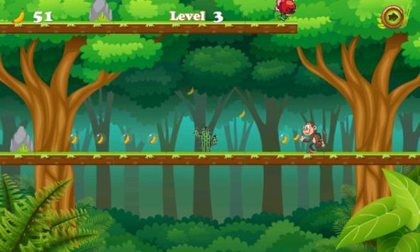 Jungle monkey running screenshot 5