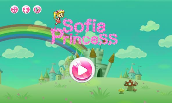 The first sofia princess run adventure poster