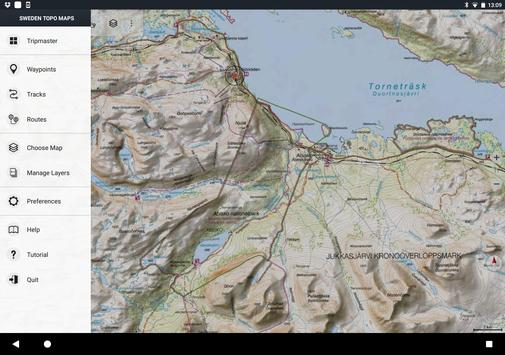 Sweden Topo Maps For Android APK Download - Sweden map topographic