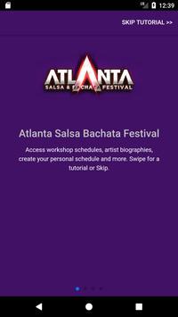 Atlanta Salsa Bachata Festival poster