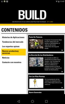 Revista BUILD apk screenshot