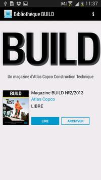 Magazine BUILD poster