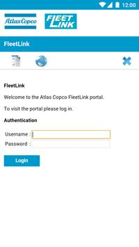 Atlas Copco FleetLink poster