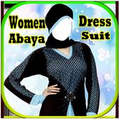 Women Abaya Dress Suit New icon