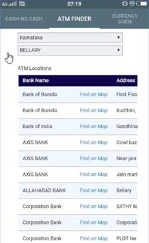 Mera ATM finder Cash / No Cash screenshot 3