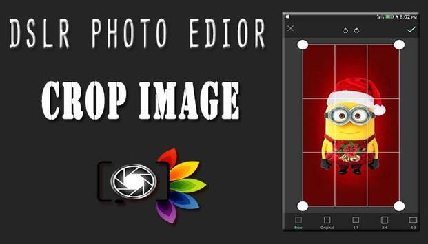 DSLR Camera : Blur Photo Editor poster