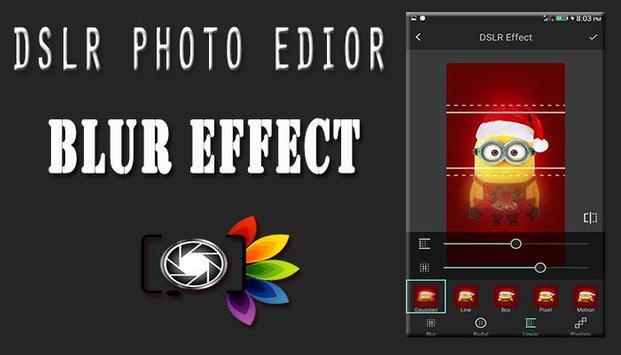DSLR Camera : Blur Photo Editor screenshot 1