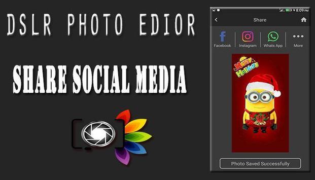 DSLR Camera : Blur Photo Editor screenshot 7