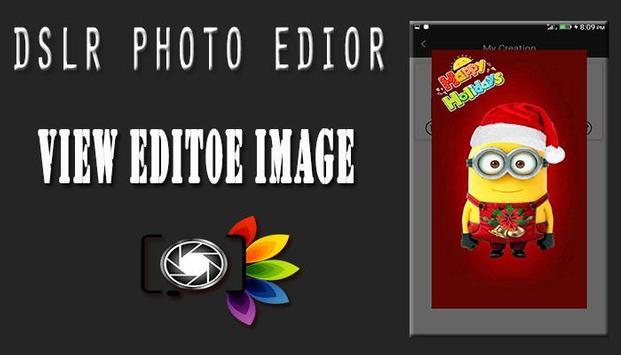 DSLR Camera : Blur Photo Editor screenshot 6