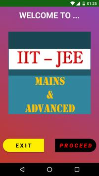 IIT-JEE (Mains & Advanced) poster